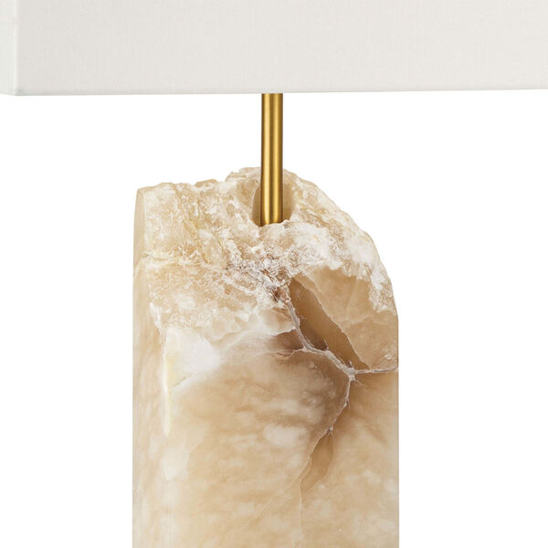 Selina Natural Stone One-Light Table Lamp, image 4