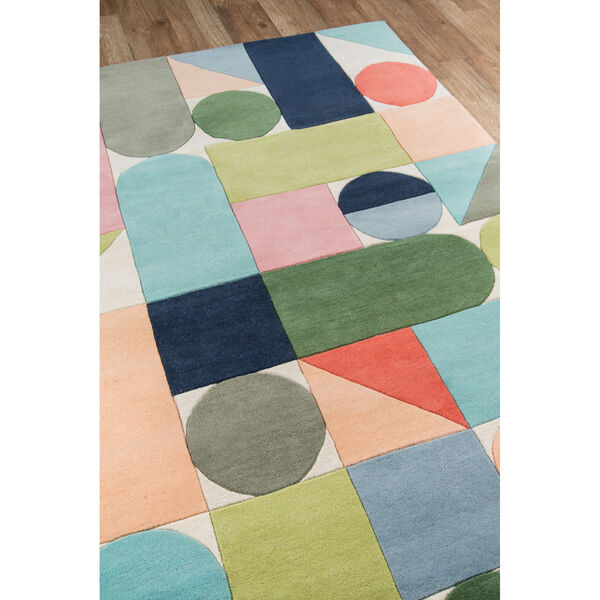 Delmar Wright Multicolor Rectangular: 3 Ft. 6 In. x 5 Ft. 6 In. Rug, image 3