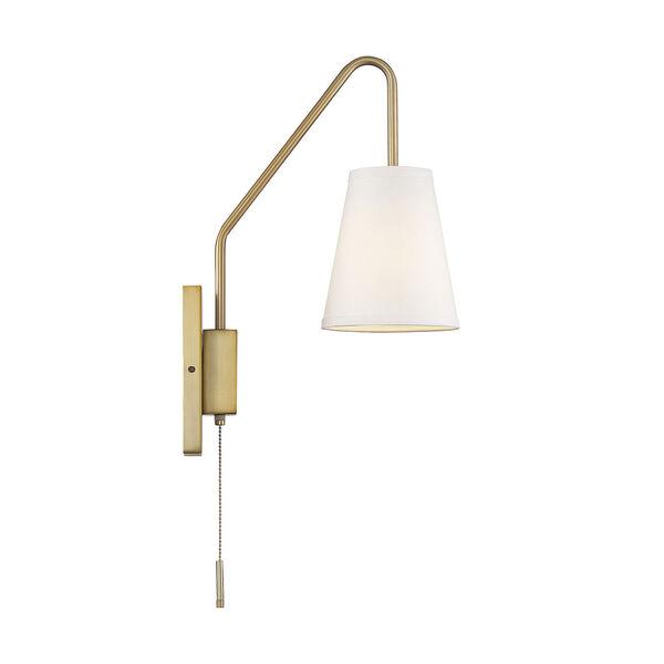 Owen Warm Brass One-Light Sconce, image 4