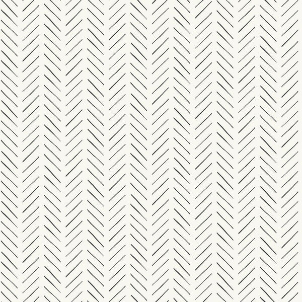 Pick-Up Sticks Black Wallpaper, image 2