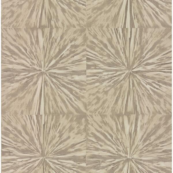 Antonina Vella Elegant Earth Light Glint Squareburst Geometric Wallpaper, image 2