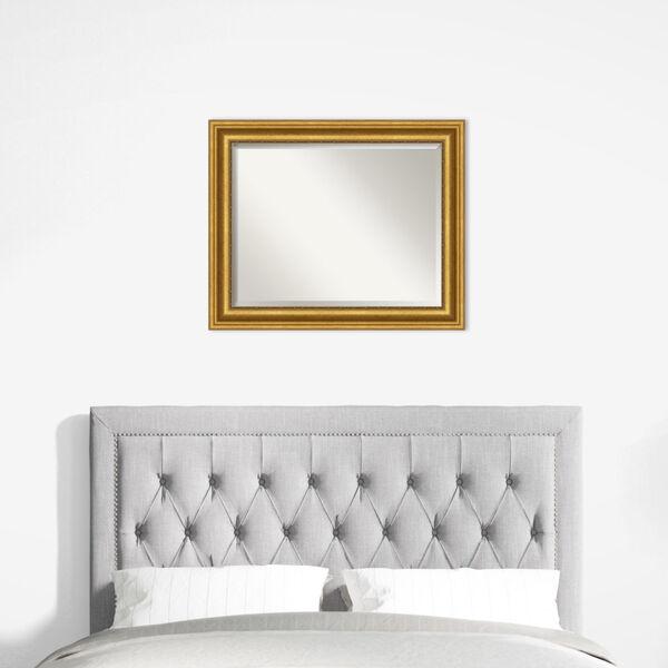 Parlor Gold 34W X 28H-Inch Bathroom Vanity Wall Mirror, image 6