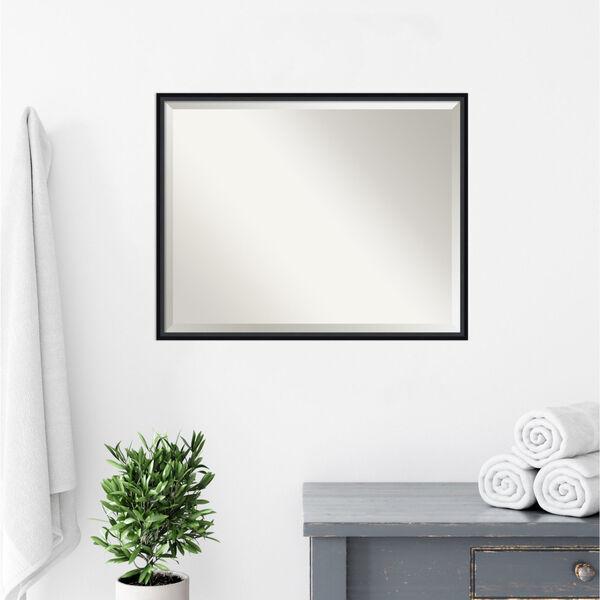 Lucie Black 29W X 23H-Inch Bathroom Vanity Wall Mirror, image 5