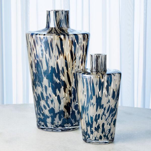 Black and Beige Confetti Shoulder Vase, image 5