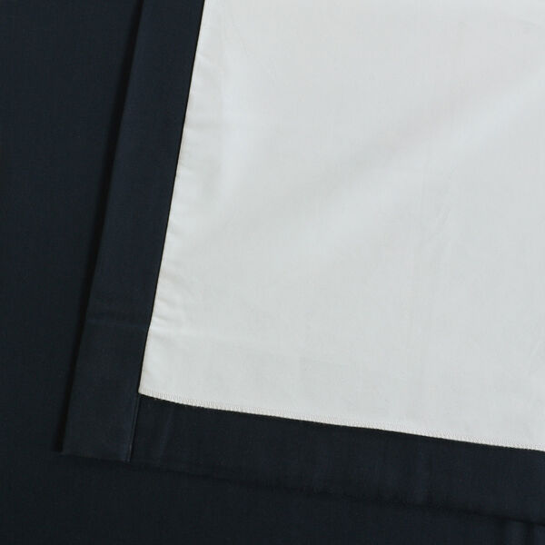 Polo Navy 50 x 84-Inch Solid Cotton Blackout  Curtain, image 11