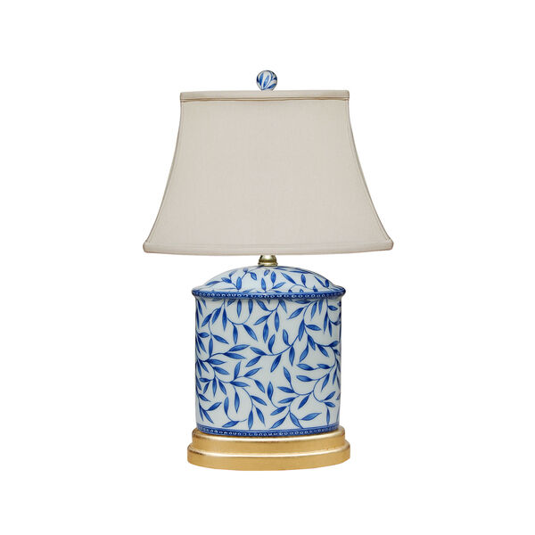 Porcelain Ware Blue and White 20-Inch One-Light Table Lamp, image 1