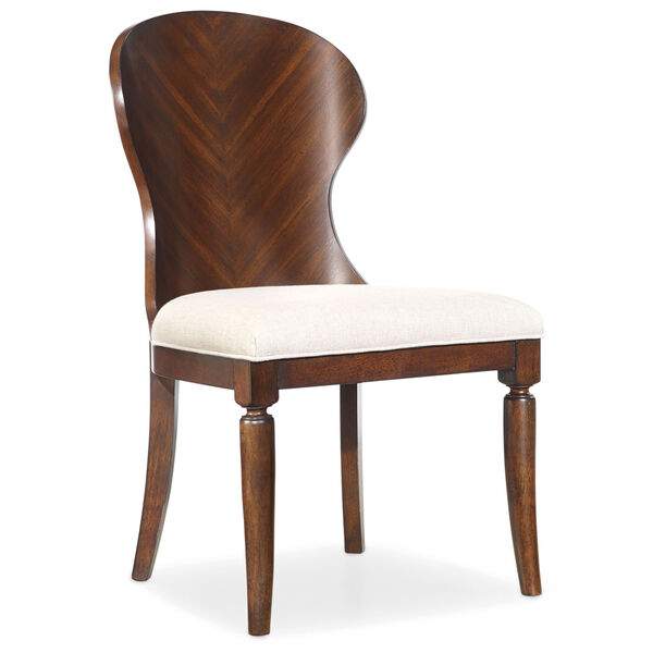 Palisade Wood Back Side Chair, image 1