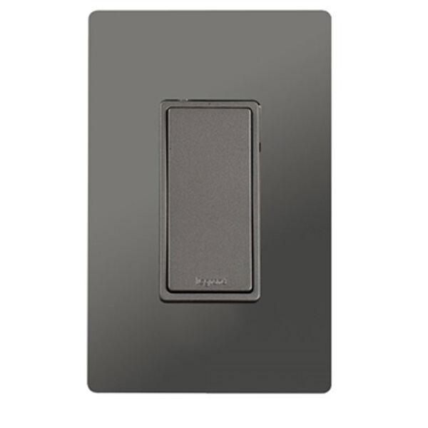 Nickel In-Wall 1500W RF Switch, image 1