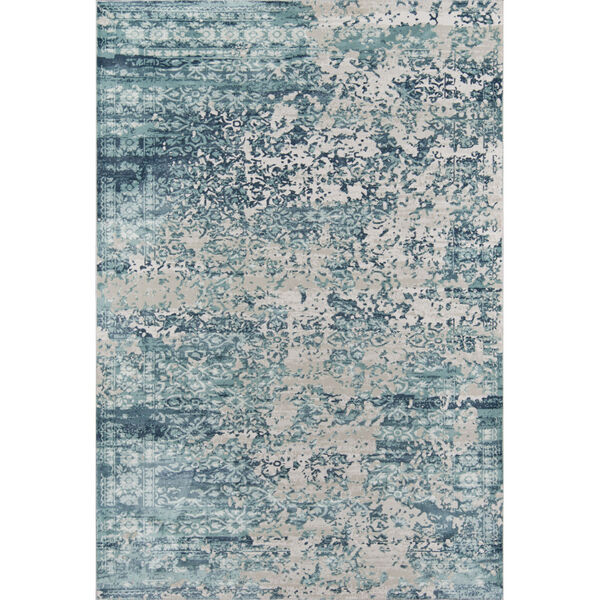 Genevieve Blue Rectangular: 7 Ft. 9 In. x 9 Ft. 10 In. Rug, image 1