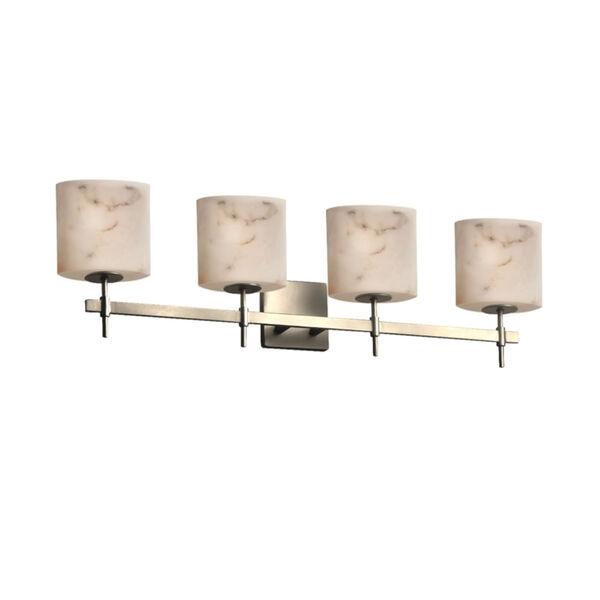 LumenAria Brushed Nickel Four-Light LED Bath Vanity, image 1