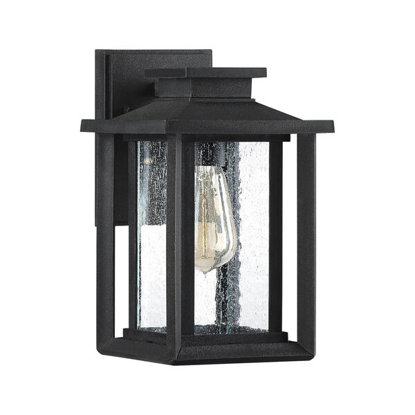 Wakefield Earth Black 11-Inch One-Light Outdoor Wall Sconce, image 2