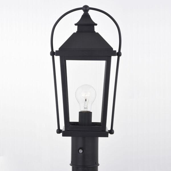 Lexington Textured Black One-Light Outdoor Post, image 5