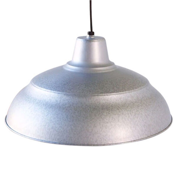 R Series Galvanized 17-Inch Warehouse Cord Hung Outdoor Pendant, image 3