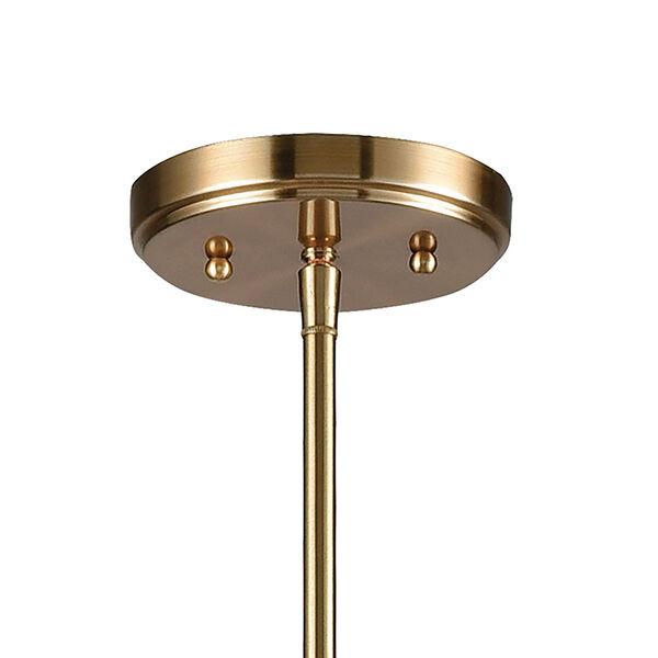 Delphine Satin Brass 10-Light Chandelier, image 5