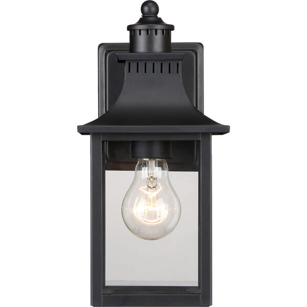 Chancellor Mystic Black One-Light Outdoor Wall Sconce, image 3