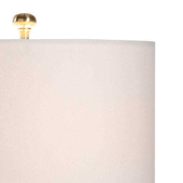 Limoni Cream and White One-Light Table Lamp, image 3