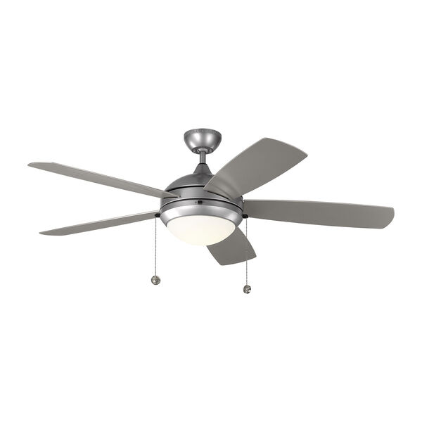 Discus Outdoor Painted Brushed Steel 52-Inch LED Outdoor Ceiling Fan, image 3