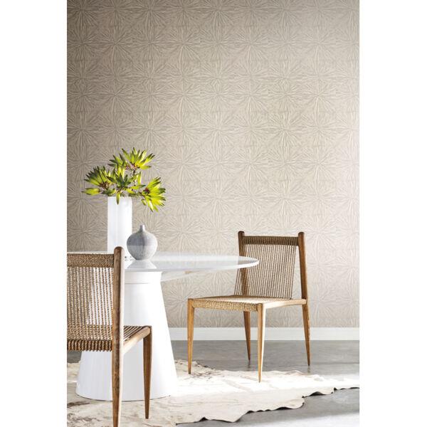 Antonina Vella Elegant Earth Light Glint Squareburst Geometric Wallpaper, image 1