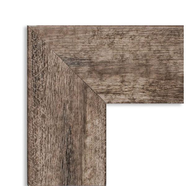 Brown 29-Inch Floor Mirror, image 3