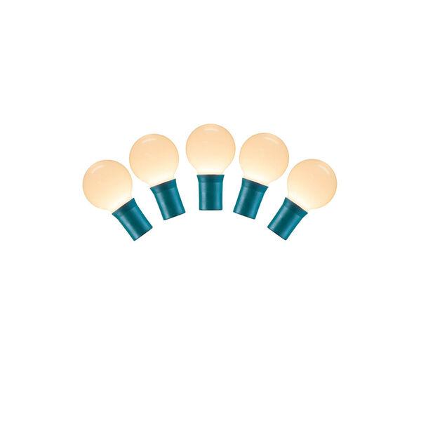 Warm White LED Ceramic Light Set with 25 Lights, image 1
