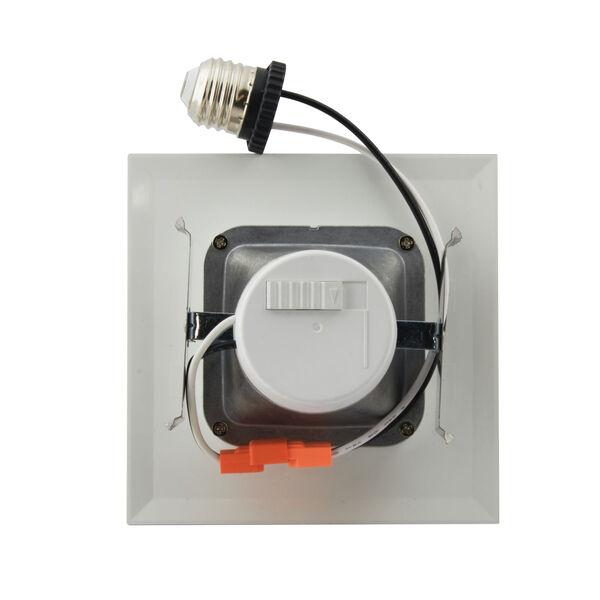 ColorQuick White 5-Inch LED Square Downlight Retrofit, image 5