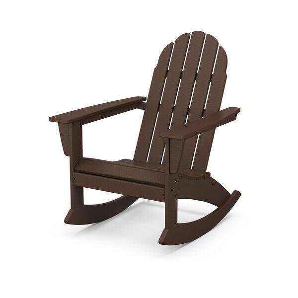 Vineyard Mahogany Adirondack Rocking Chair, image 1