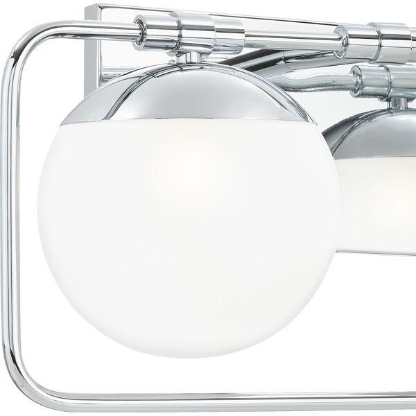 Padgett Polished Chrome Two-Light Bath Vanity, image 6