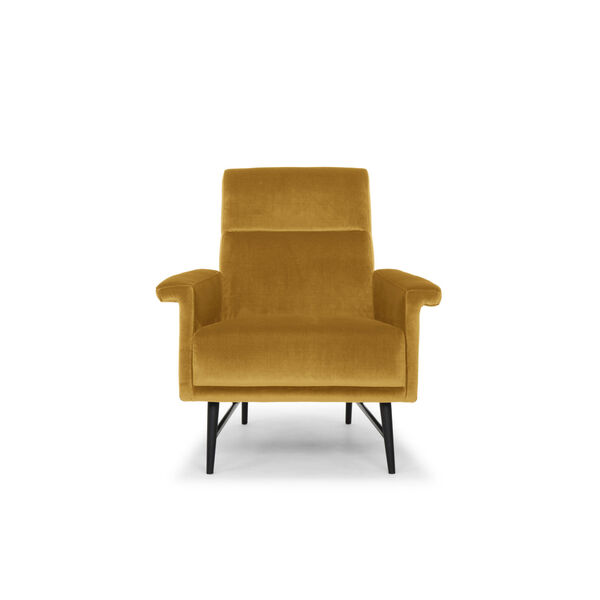 Mathise Mustard and Black Occasional Chair, image 6