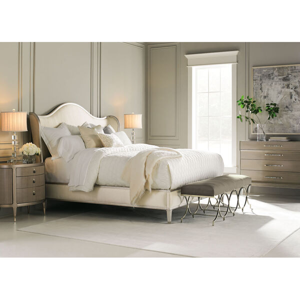 Classic Ivory Queen Bed, image 5