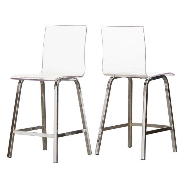 Seneca Acrylic Counter Chair, Set of 2, image 3