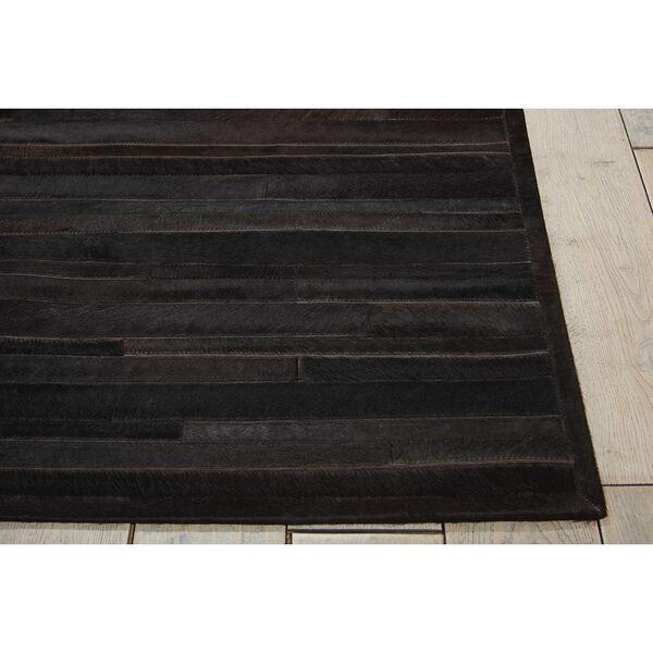 Prairie Black Rectangular: 5 Ft. 6 In. x 7 Ft. 5 In. Rug, image 2