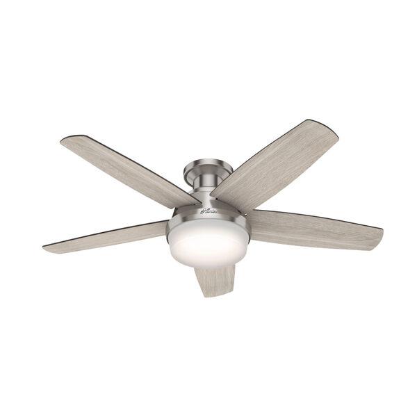Avia Brushed Nickel 48-Inch LED Ceiling Fan, image 1