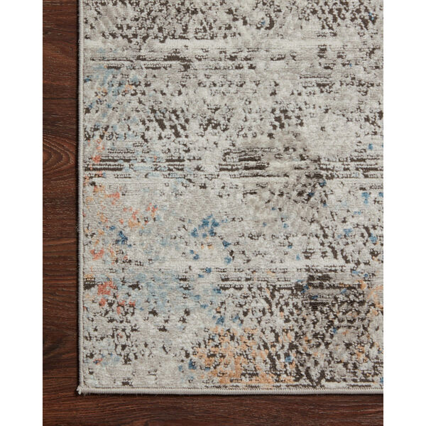 Bianca Gray, Spice and Blue 9 Ft. 9 In. x 13 Ft. 6 In. Area Rug, image 5