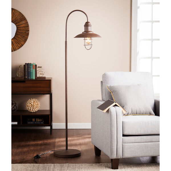Pinsley Caged Bell Floor Lamp, image 1