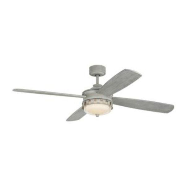 Lemont Washed Grey 56-Inch DC Motor LED Ceiling Fan, image 2