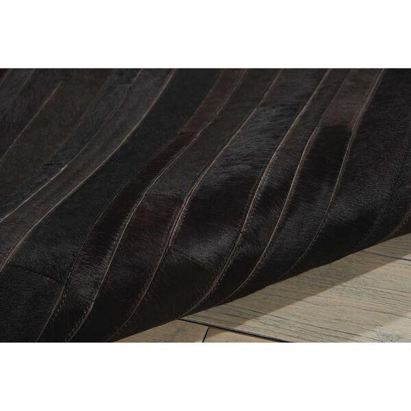 Prairie Black Rectangular: 5 Ft. 6 In. x 7 Ft. 5 In. Rug, image 4