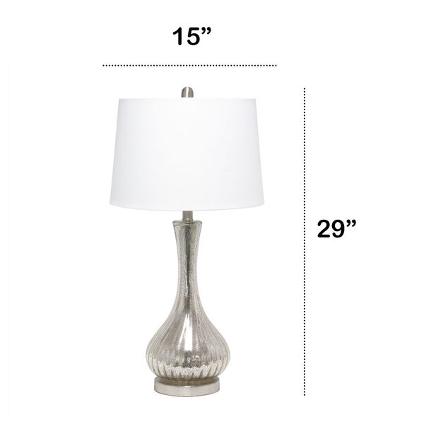 Opal Mercury One-Light Table Lamp, image 3