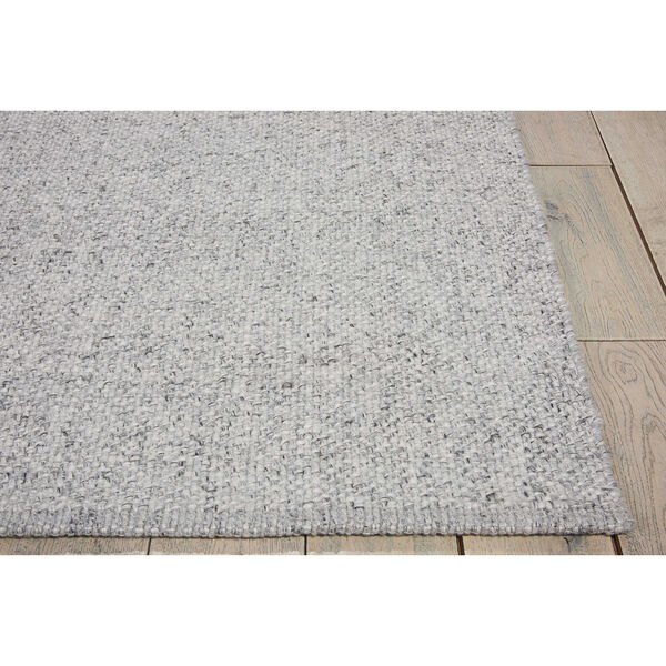 Tobiano Roan Silver Rectangular: 5 Ft. 3 In. x 7 Ft. 5 In. Rug, image 2