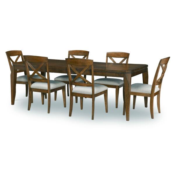 Highland Saddle Brown Leg Table, image 6
