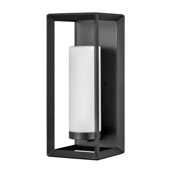 Rhodes Brushed Graphite One-Light 9-Inch Outdoor Wall Mount, image 1