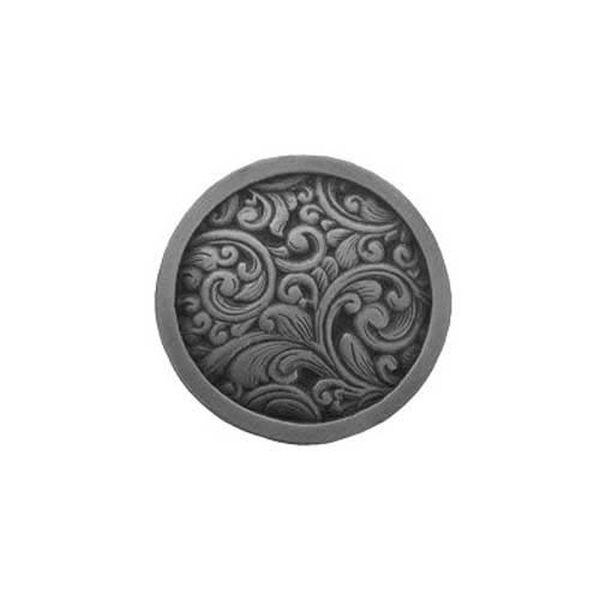 Antique Pewter Saddleworth Knob , image 1