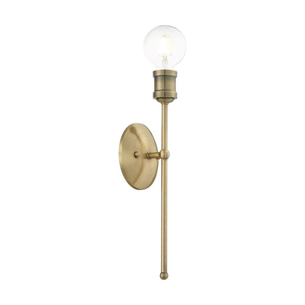 Lansdale Antique Brass One-Light  Wall Sconce, image 4