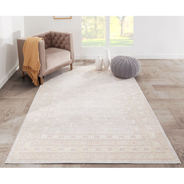 Isabella Tribal Gray Rectangular: 9 Ft. 3 In. x 11 Ft. 10 In. Rug, image 2