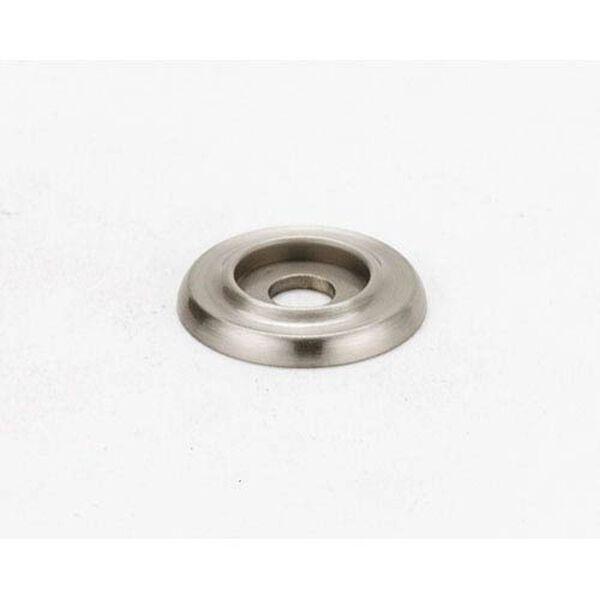Satin Nickel 3/4-Inch Backplate, image 1