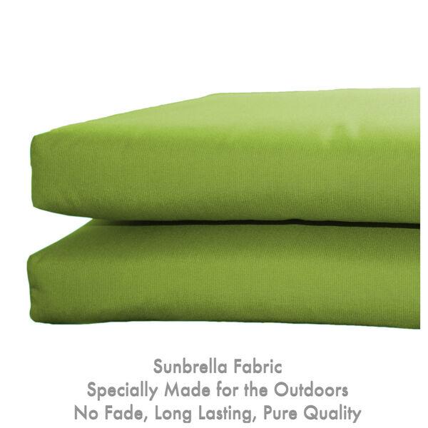 Sunbrella Kiwi Universal Seat Cushion, Set of Two, image 4