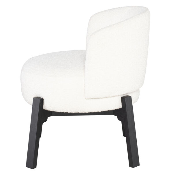 Adelaide Buttermilk and Black Dining Chair, image 4