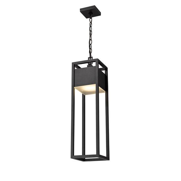 Barwick Black One-Light LED Outdoor Pendant, image 5
