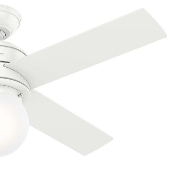 Hepburn Matte White 44-Inch LED Ceiling Fan, image 4