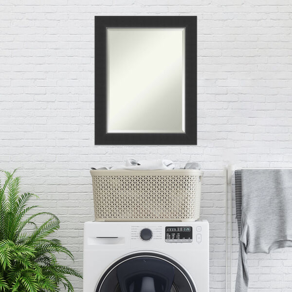 Corvino Black 23W X 29H-Inch Bathroom Vanity Wall Mirror, image 6