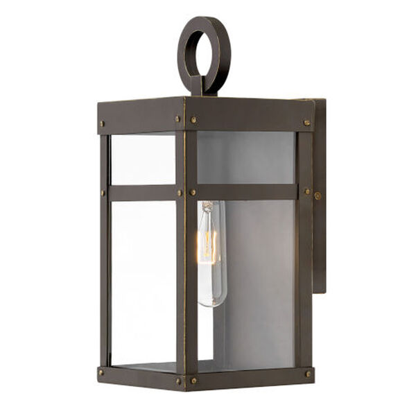 Porter Oil Rubbed Bronze One-Light 13-Inch Outdoor Wall Mount, image 1